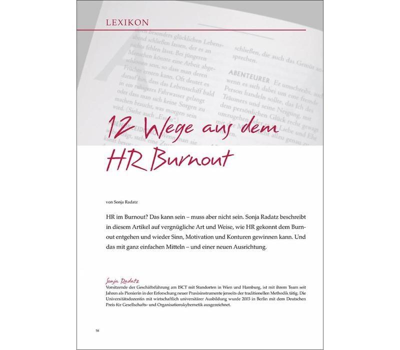 12 Wege aus dem HR Burnout