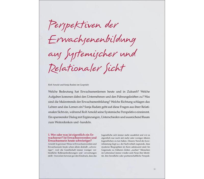 Perspektiven der Erwachsenenbildung aus Systemischer und Relationaler Sicht