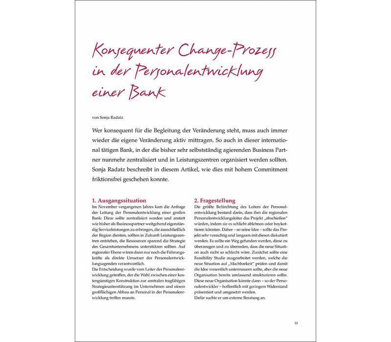 Konsequenter Change-Prozess in der Personalentwicklung einer Bank