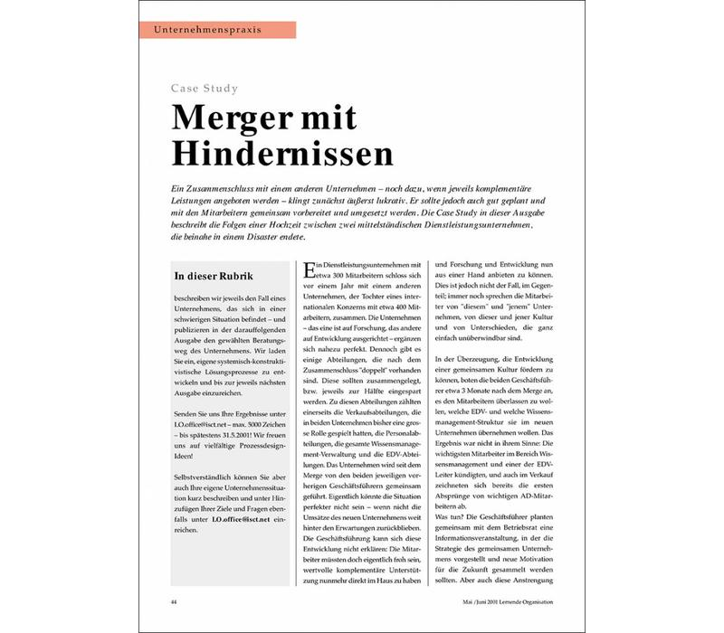 Merger mit Hindernissen