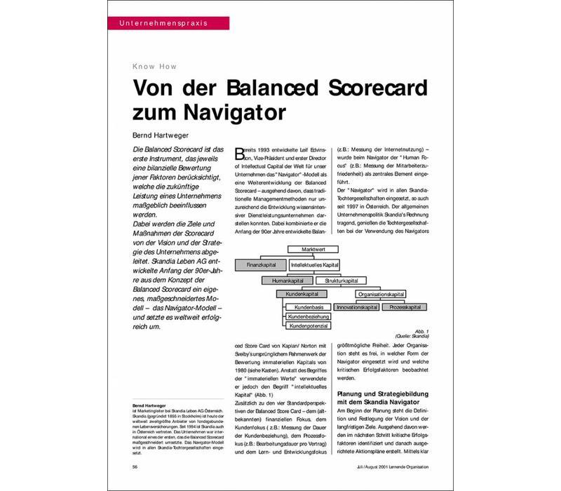 von der Balanced Scorecard zum Navigator