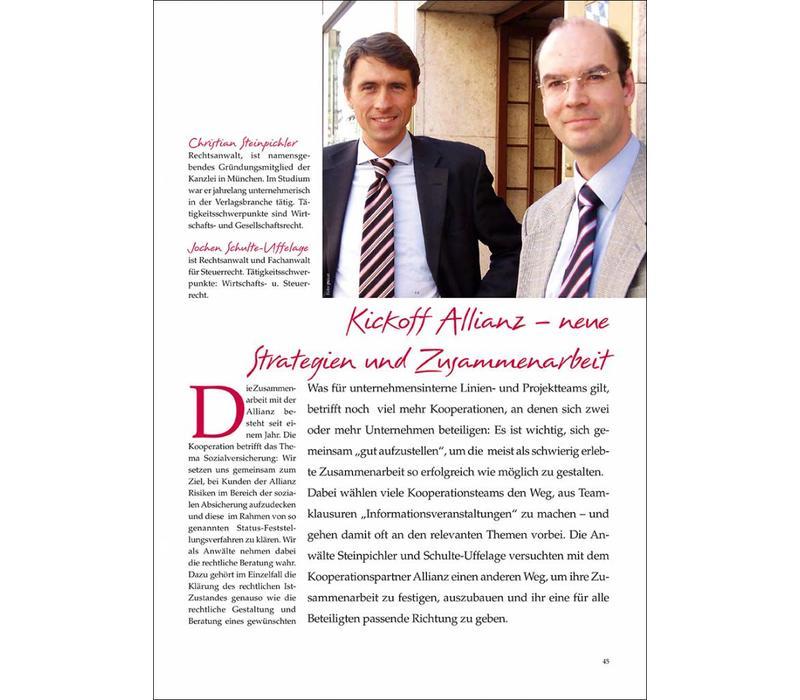 Kickoff Allianz – neue Strategien und Zusammenarbeit