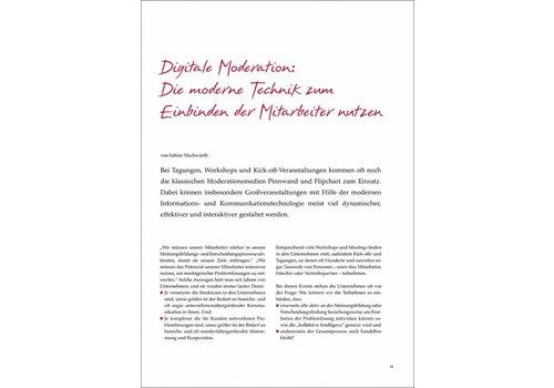 Digitale Moderation: Die moderne Technik zum Einbinden der Mitarbeiter nutzen