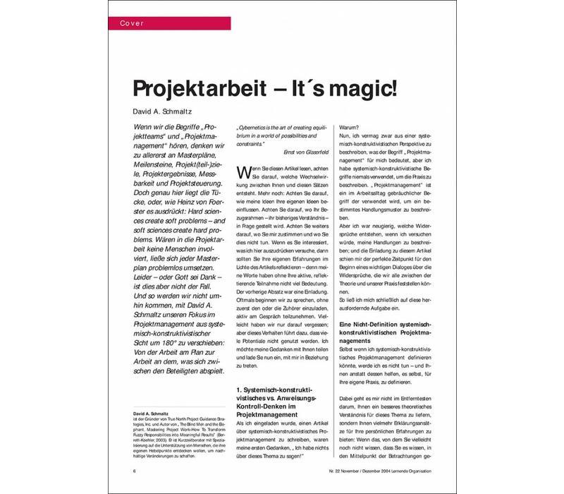 Projektarbeit – It´s magic!