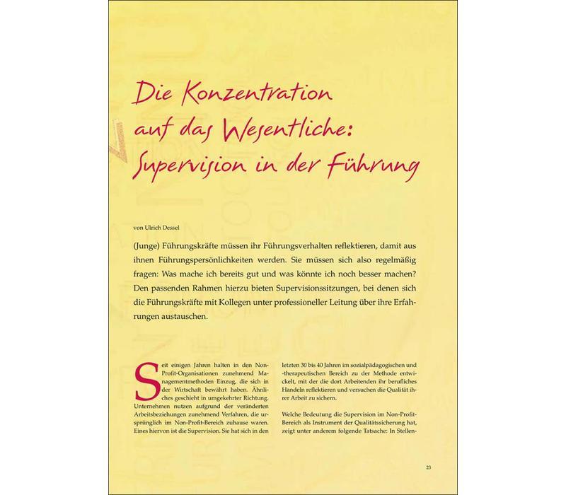 Die Konzentration auf das Wesentliche: Supervision in der Führung
