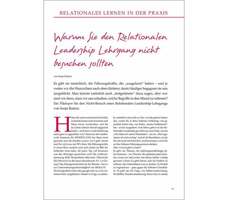 Warum Sie den Relationalen Leadership Lehrgang nicht besuchen sollten
