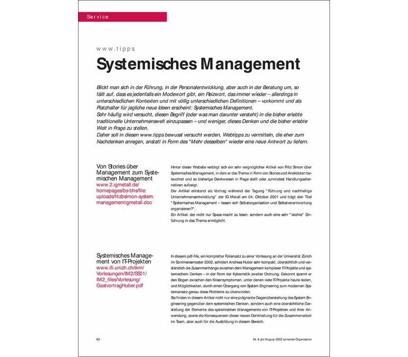 Systemisches Management