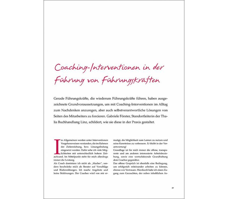 Coaching-Interventionen in der Führung von Führungskräften