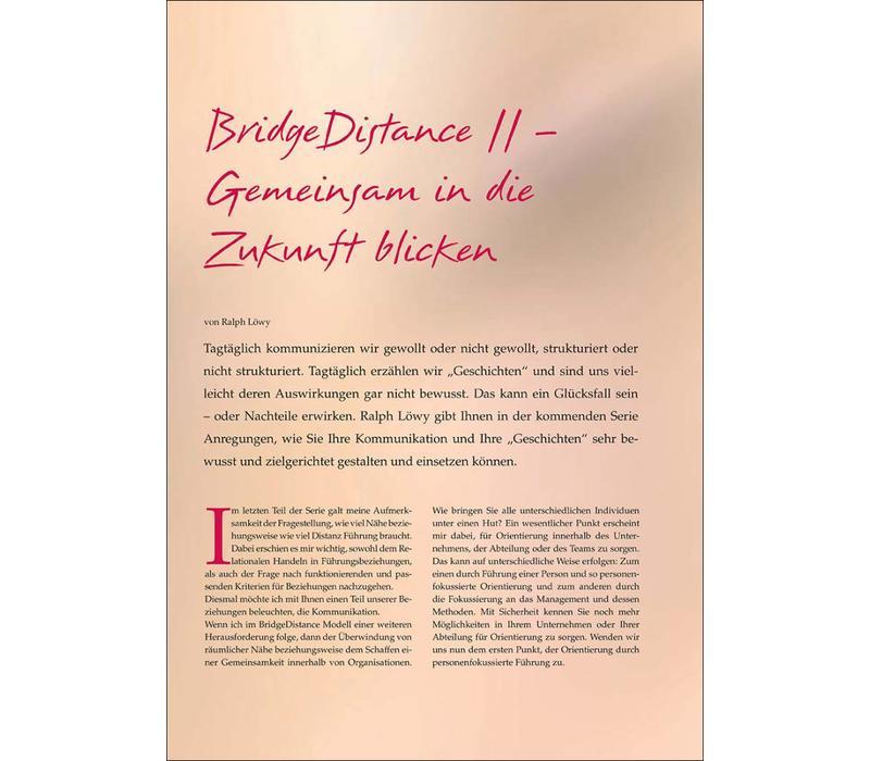 BridgeDistance II – Gemeinsam in die Zukunft blicken