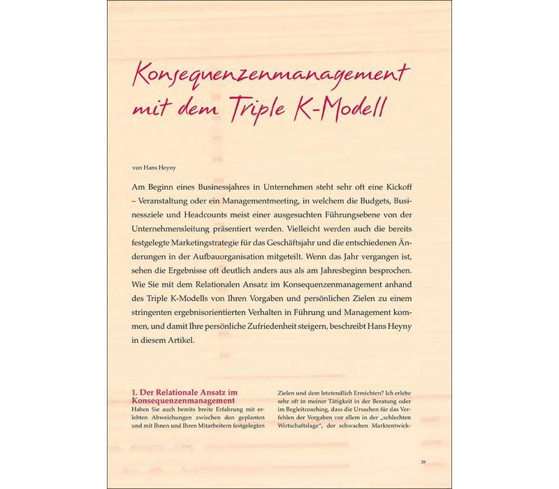 Konsequenzenmanagement mit dem Triple K-Modell