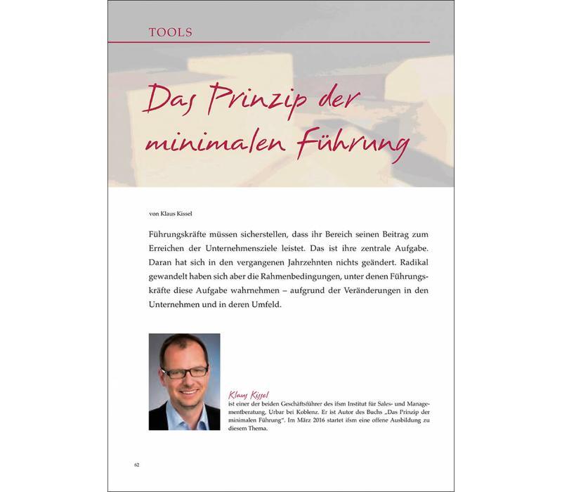 Das Prinzip der minimalen Führung