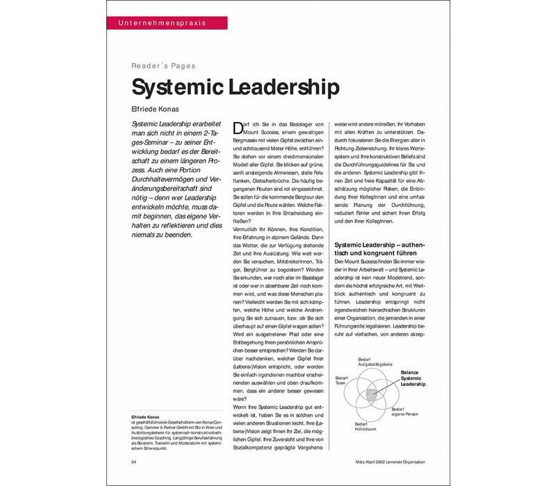 Systemic Leadership
