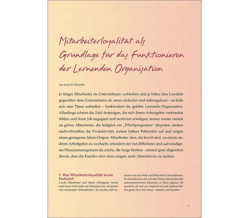 Mitarbeiterloyalität als Grundlage für das Funktionieren der Lernenden Organisation