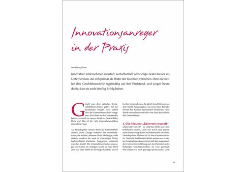 Innovationsanreger in der Praxis