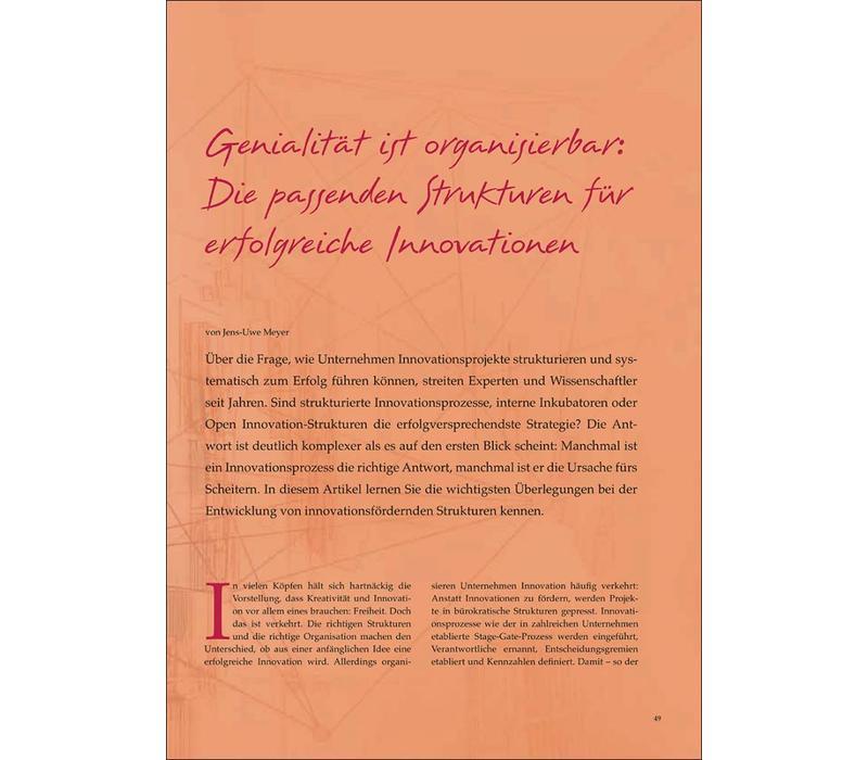 Genialität ist organisierbar: Strukturen für erfolgreiche Innovationen