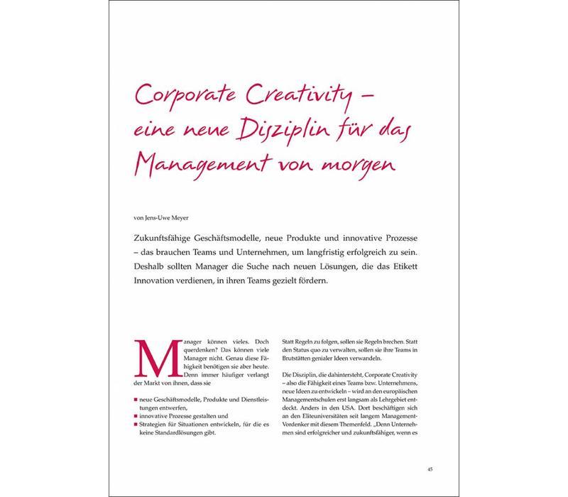 Corporate Creativity – eine neue Disziplin für das Management von morgen