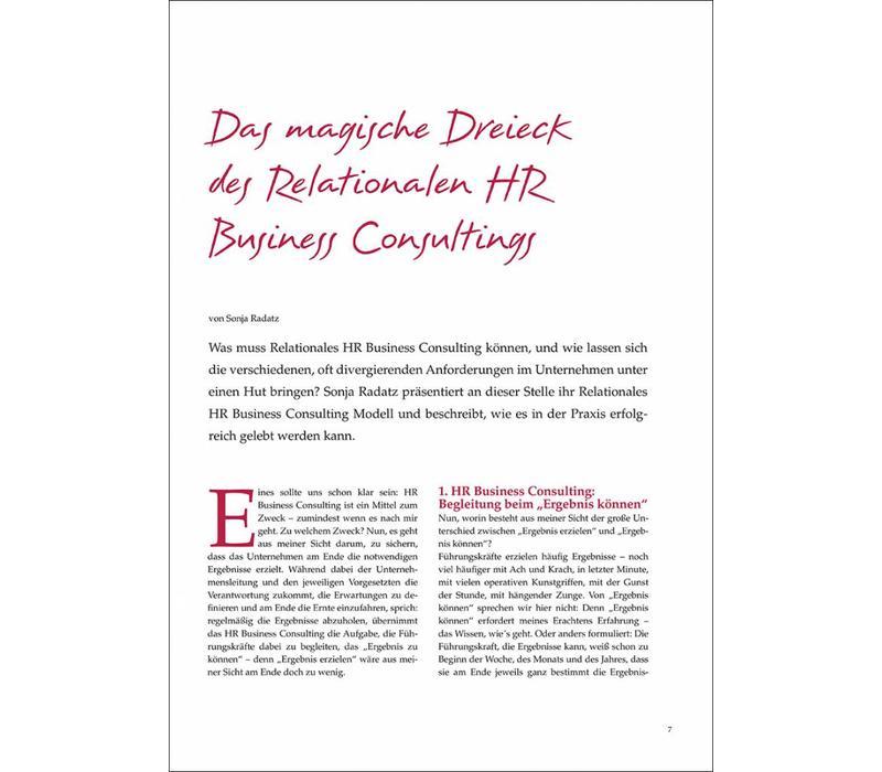 Das magische Dreieck des Relationalen HR Business Consultings