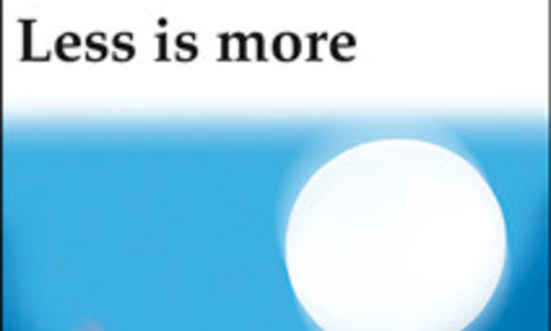 Less is more: Weniger Verbesserung – mehr Neugestaltung