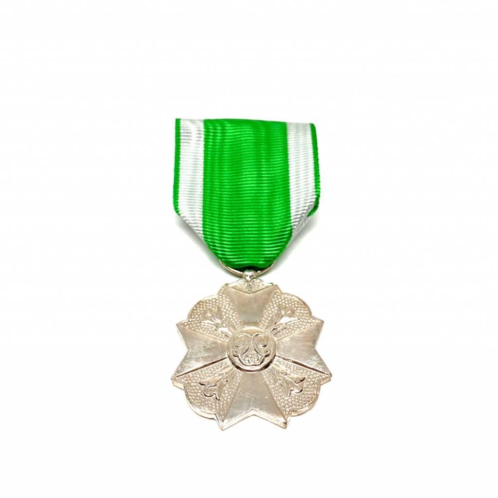 Médaille civique pompiers deuxième classe