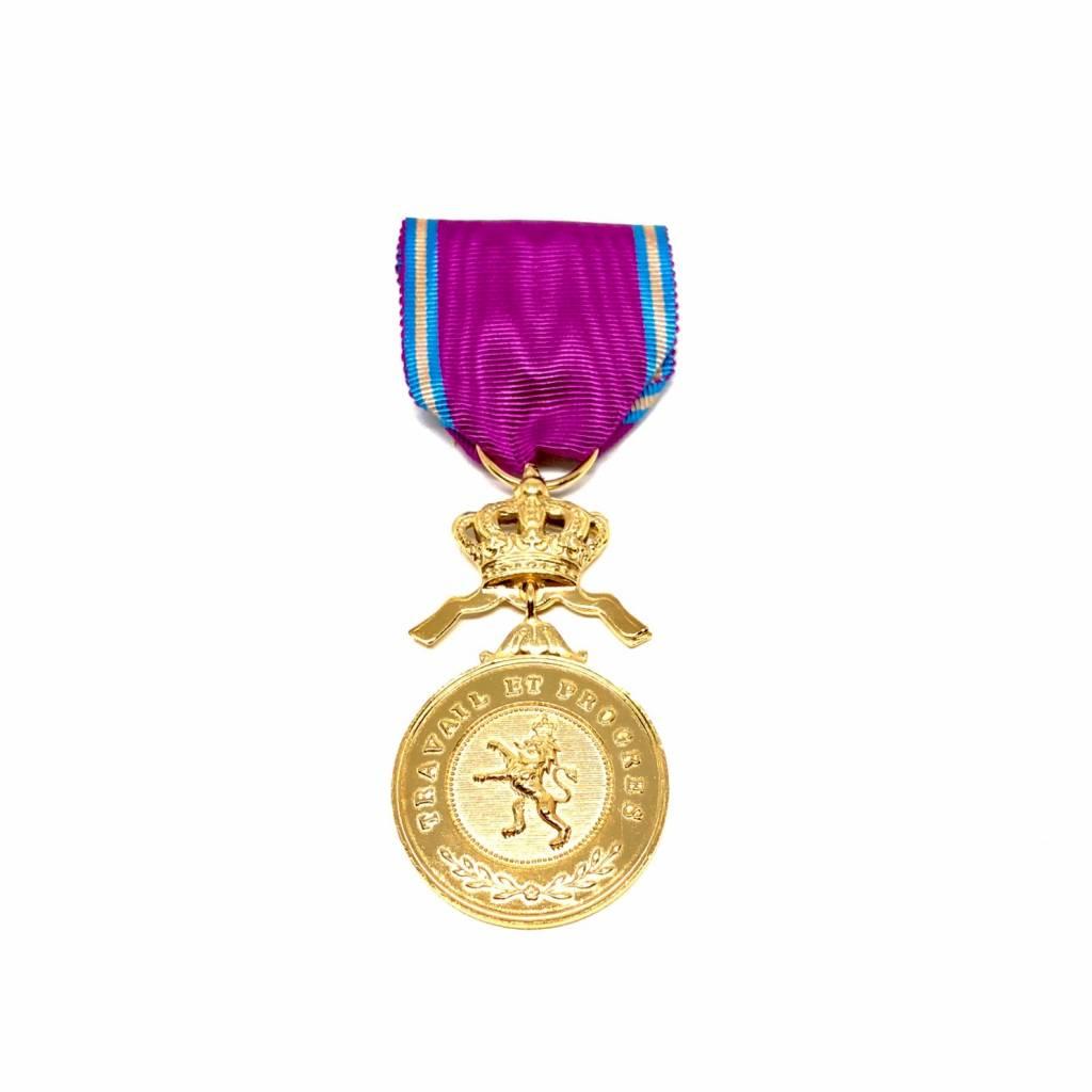 Golden medal in the Royal Order of the Lion
