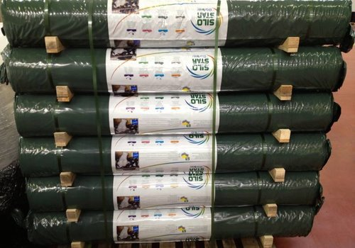 Landbouwplastic groen/zwart  - 35 x 14 meter