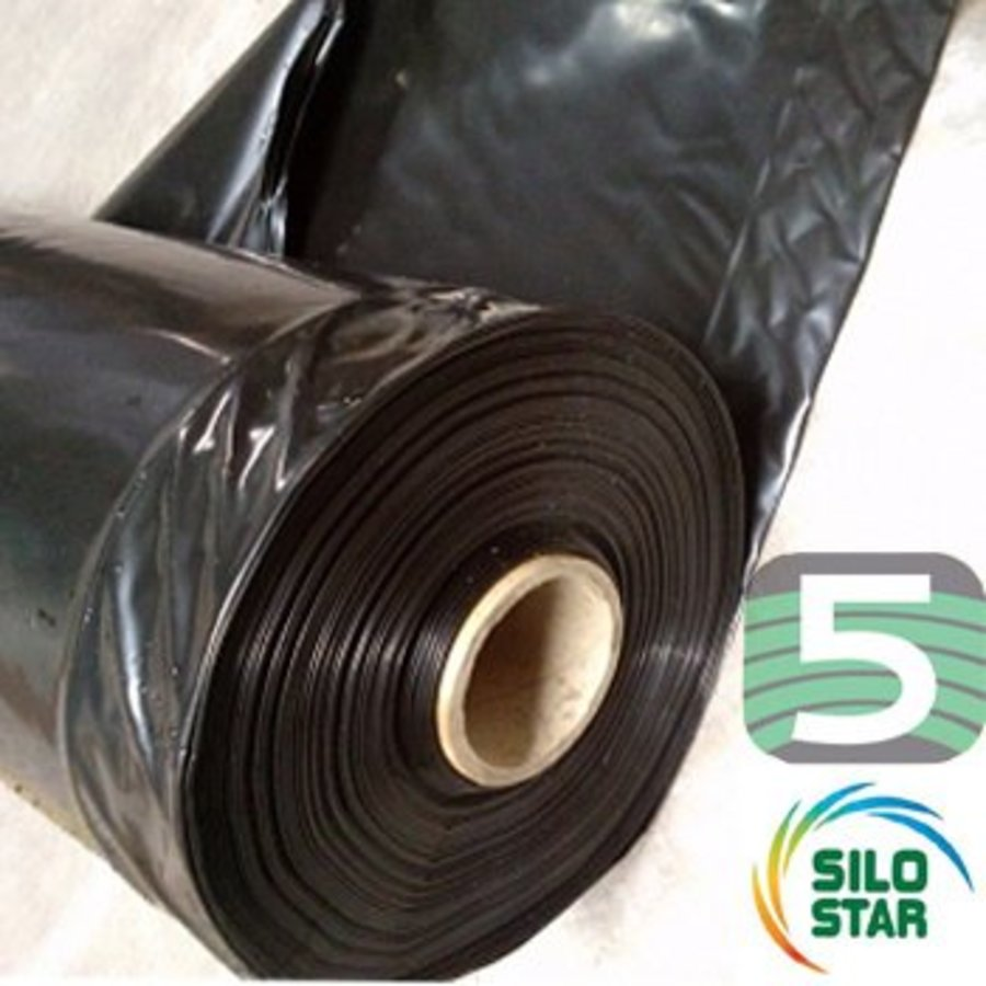Landbouwplastic Ensil'Premium zwart 50 x 10 meter-1