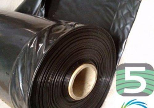 Landbouwplastic zwart 50 x 12 meter