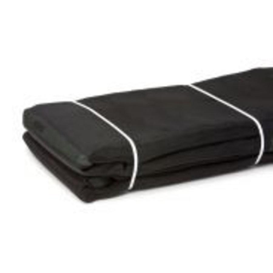 Kuilkleed zwart 15 x 18 meter-1