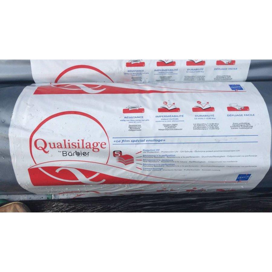 Landbouwplastic Qualisilage zwart/wit 50 x 6 meter-2