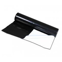 thumb-Landbouwplastic Qualisilage zwart/wit 50 x 6 meter-1