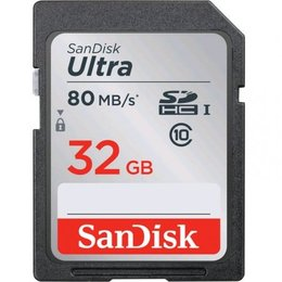 Sandisk Ultra SDHC 32GB geheugenkaart class 10