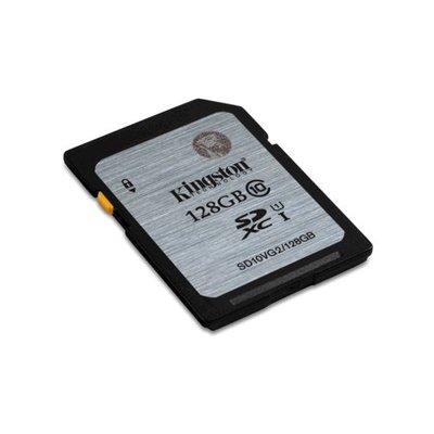 Kingston SDXC 128GB geheugenkaart class 10 (Nieuw model)