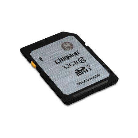 Kingston SDHC 32GB geheugenkaart class 10