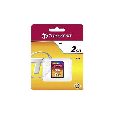 Transcend SD 2GB geheugenkaart class 2