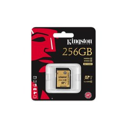 Kingston SDXC 256GB geheugenkaart class 10