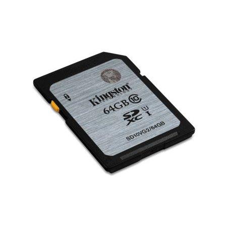 Kingston 64gb SDXC geheugenkaart class 10