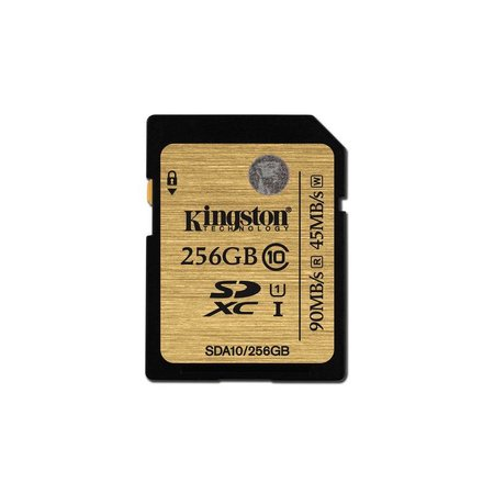 Kingston SDXC 256GB geheugenkaart class 10