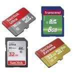 Alle SD-kaarten
