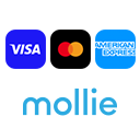 Credit card payment is free of charge via a secure, encrypted PCI-DSS, Level 1 certified connection by the payment service provider Mollie