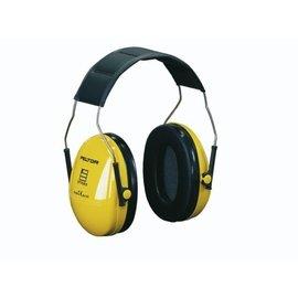 Gehoorkap Optime I H510A, zwart-geel, met hoofdband