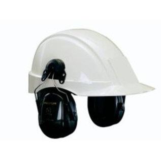 Gehoorkap Optime II H520P3E zwart, Voor helm met 30 mm