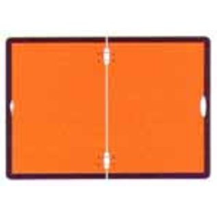 ADR bord oranje 400 x 300 mm vouwbaar incl. montage materiaal