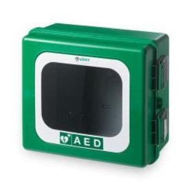 Arky kunststof AED wandkast met alarm