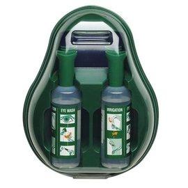 Oogspoelstation met 2 fles 500ml steriele zoutoplossing
