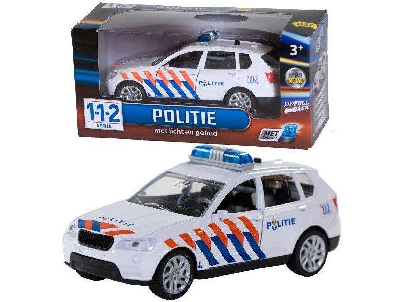 112 Politieauto met licht en geluid 1:43