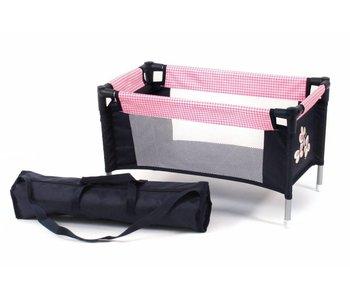 Bayer Chic Poppenreisbed (pink checker)