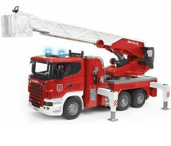 Bruder 3590 - Scania R-Serie Brandweer met Spuit en Sirene