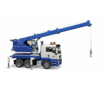 Bruder 3770 MAN TGS Kraanwagen met licht/geluid