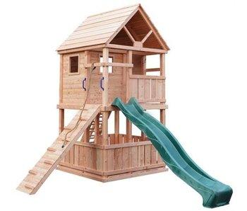 Douglas speeltoestel Bonobo Groen geimpregneerd Excl. glijbaan