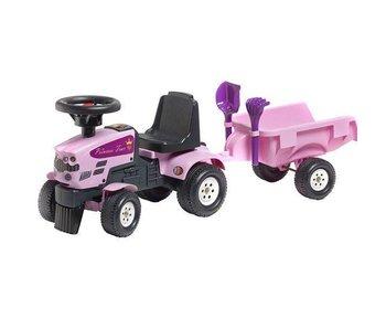 Falk tractor princess + aanhanger